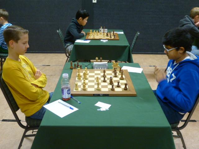 Kritin schaakt tegen Luuk