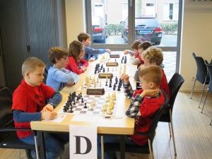 D team in actie