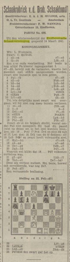 Nieuwe Tilburgse Courant, 11 april 1941