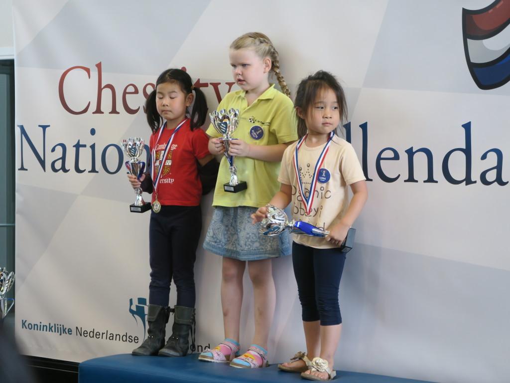 Mily (links) en Luna (rechts) mogen volgend jaar weer in de H categorie spelen.