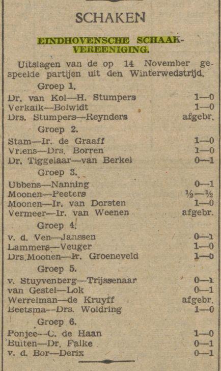 Dagblad van het Zuiden, 19 november 1941