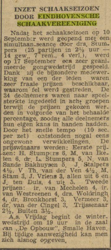 Dagblad van het Zuiden, 22 september 1943
