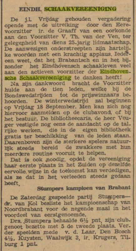Dagblad van het Zuiden, 9 september 1942