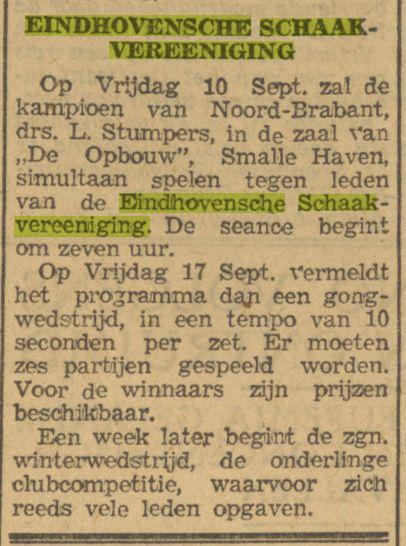 Dagblad van het Zuiden, 9 september 1943