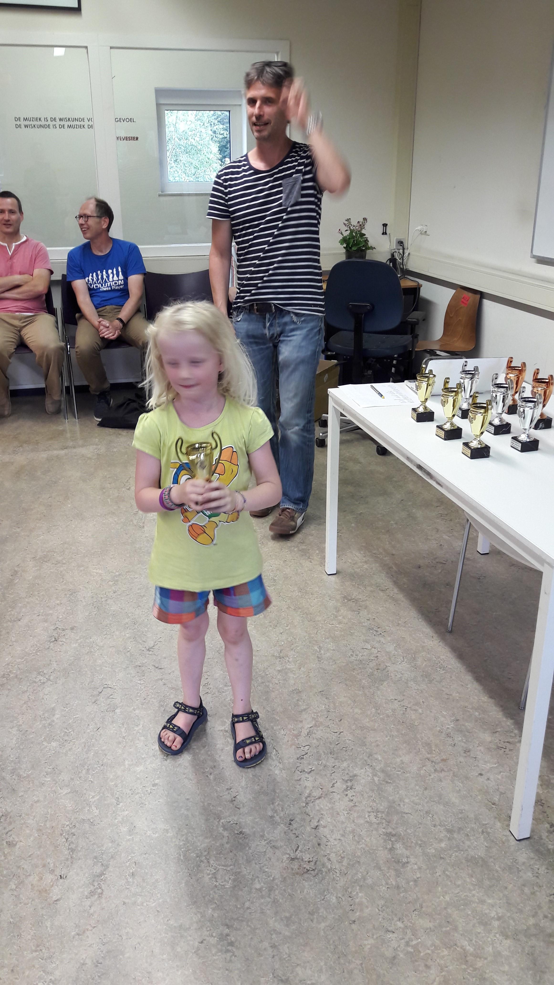 Yara krijgt de eerste prijs in groep D